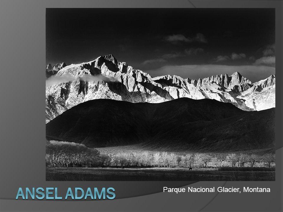 Ansel Adams Parque Nacional Glacier, Montana