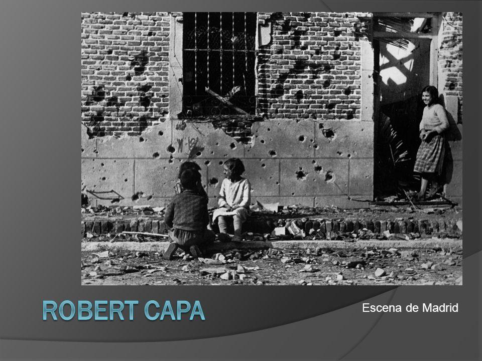 Robert Capa Escena de Madrid