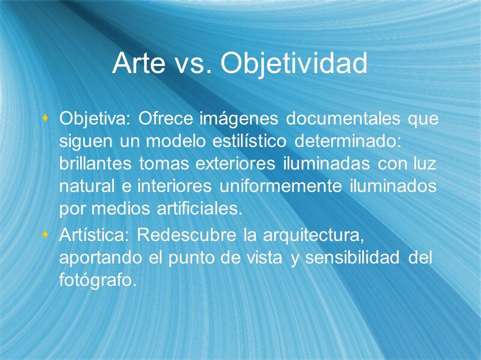 Arte vs. Objetividad