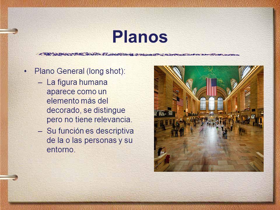 Planos Plano General (long shot):