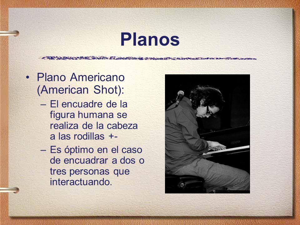 Planos Plano Americano (American Shot):