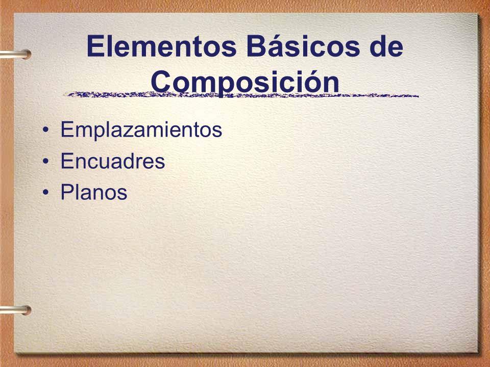 Elementos Básicos de Composición