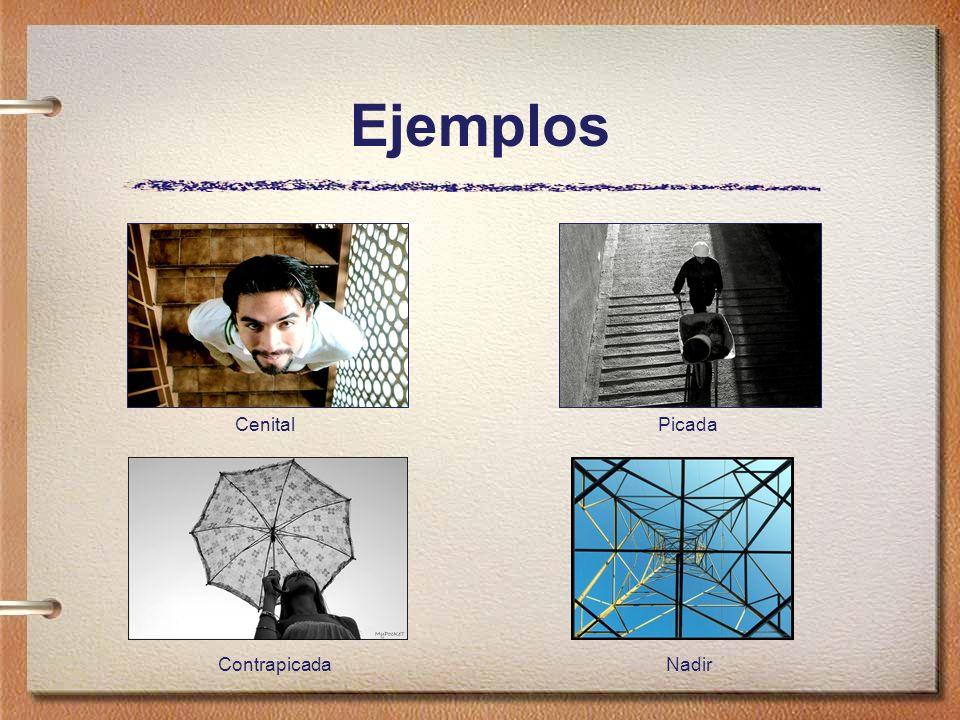 Ejemplos Cenital Picada Contrapicada Nadir
