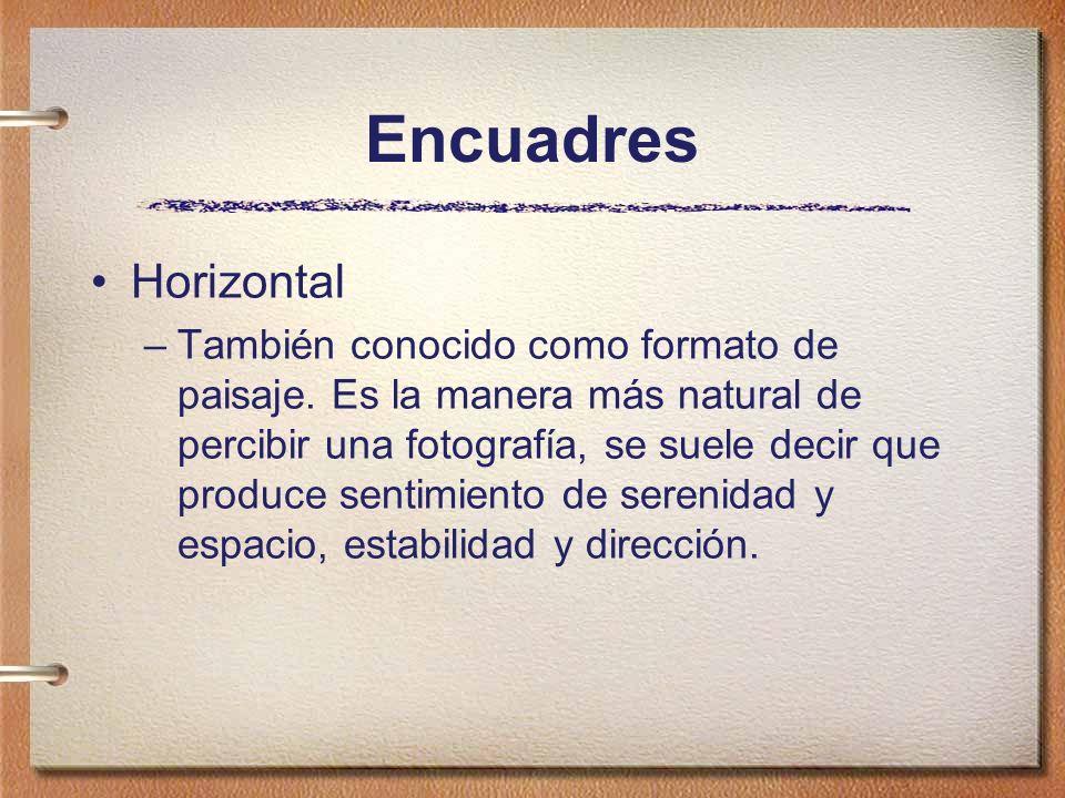 Encuadres Horizontal.