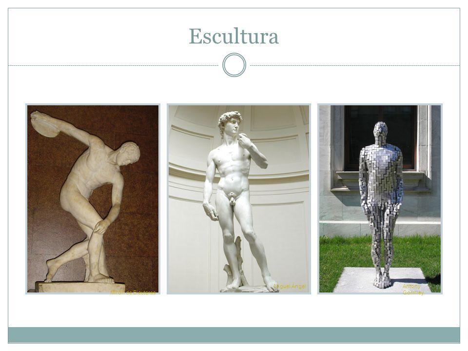 Escultura Mirón de Eleuteras Miguel Ángel Antony Gormley