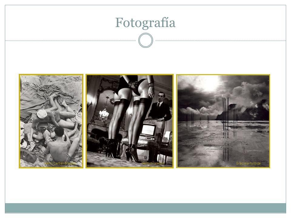 Fotografía Henri Cartier-Bresson Helmut Newton Graciela Iturbide