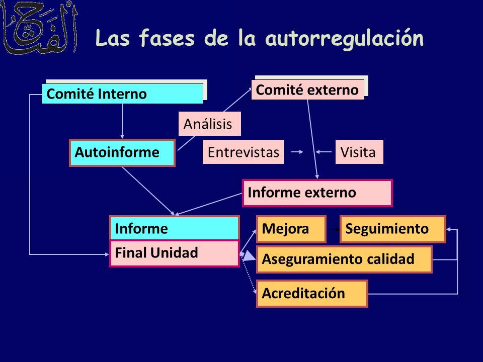 Las fases de la autorregulación