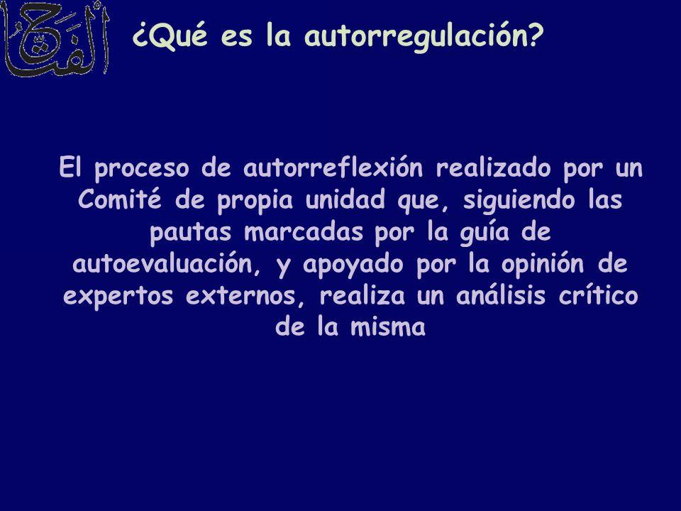 ¿Qué es la autorregulación
