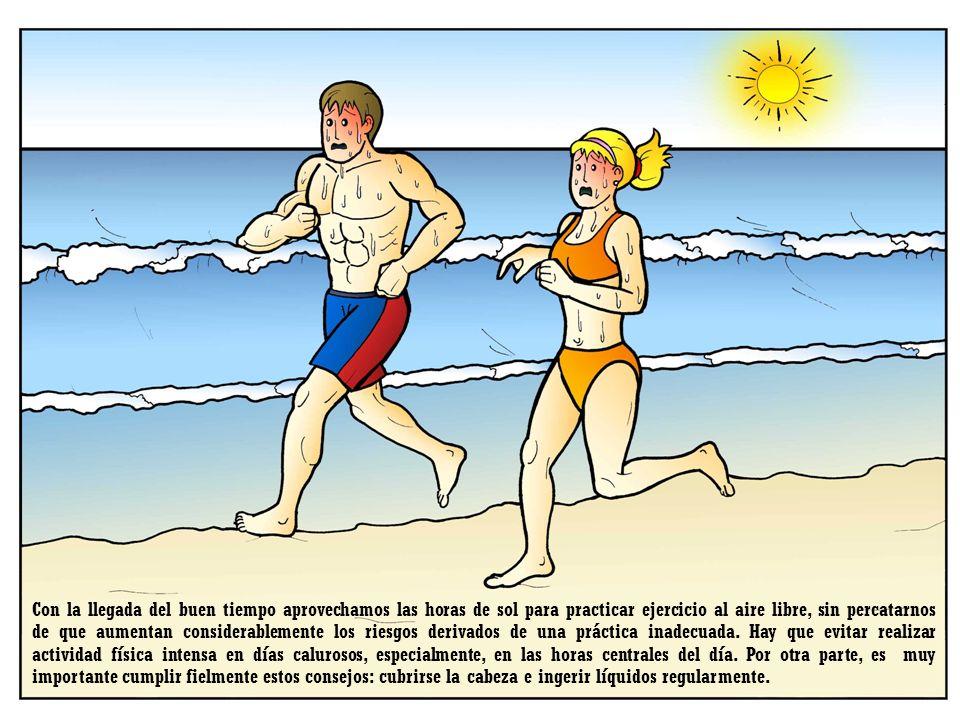 Con la llegada del buen tiempo aprovechamos las horas de sol para practicar ejercicio al aire libre, sin percatarnos de que aumentan considerablemente los riesgos derivados de una práctica inadecuada.