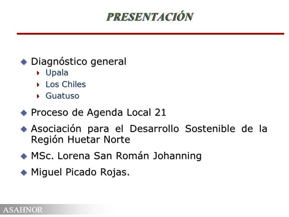 PRESENTACIÓN Diagnóstico general Proceso de Agenda Local 21