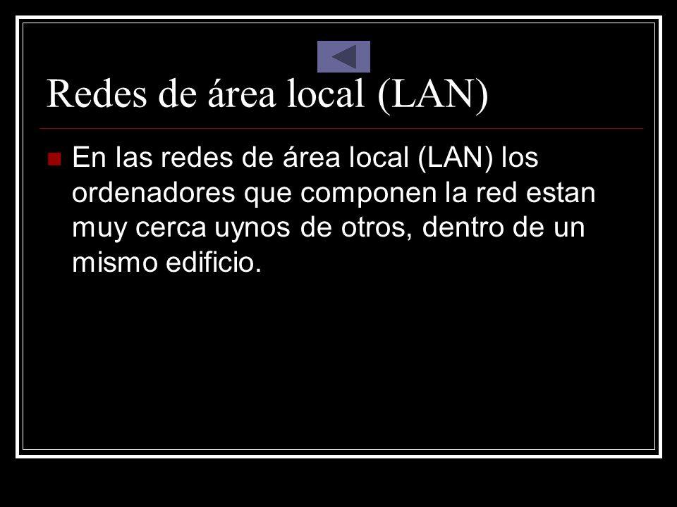 Redes de área local (LAN)