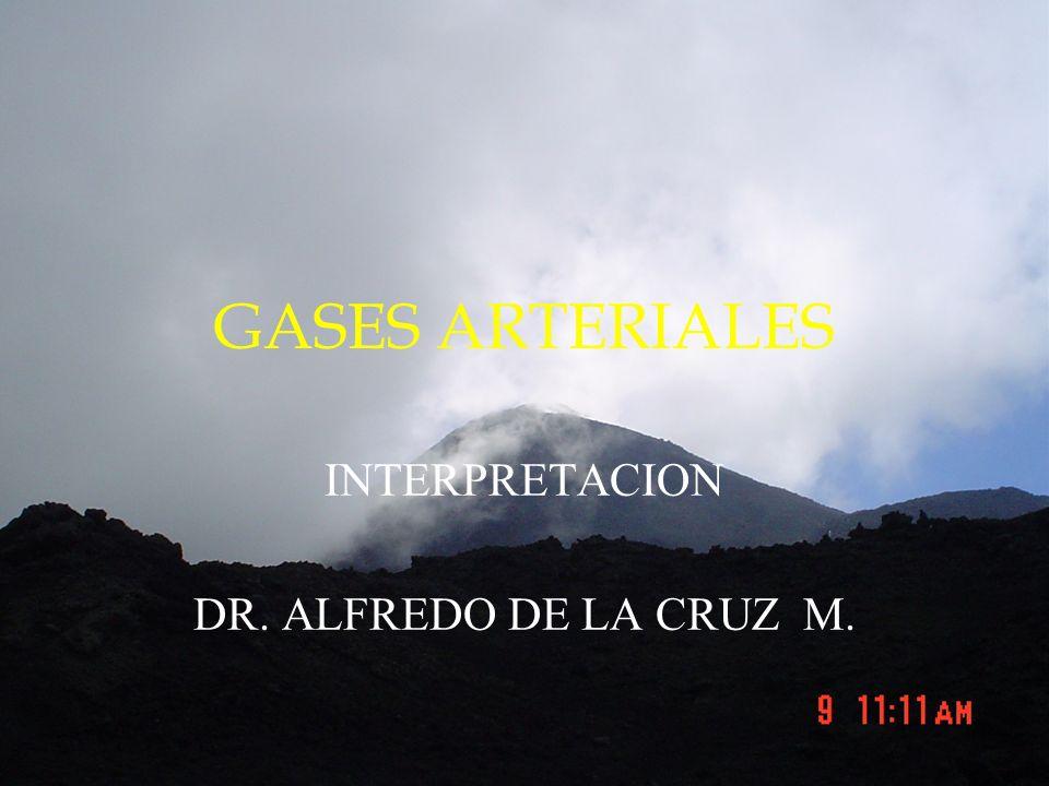 INTERPRETACION DR. ALFREDO DE LA CRUZ M.