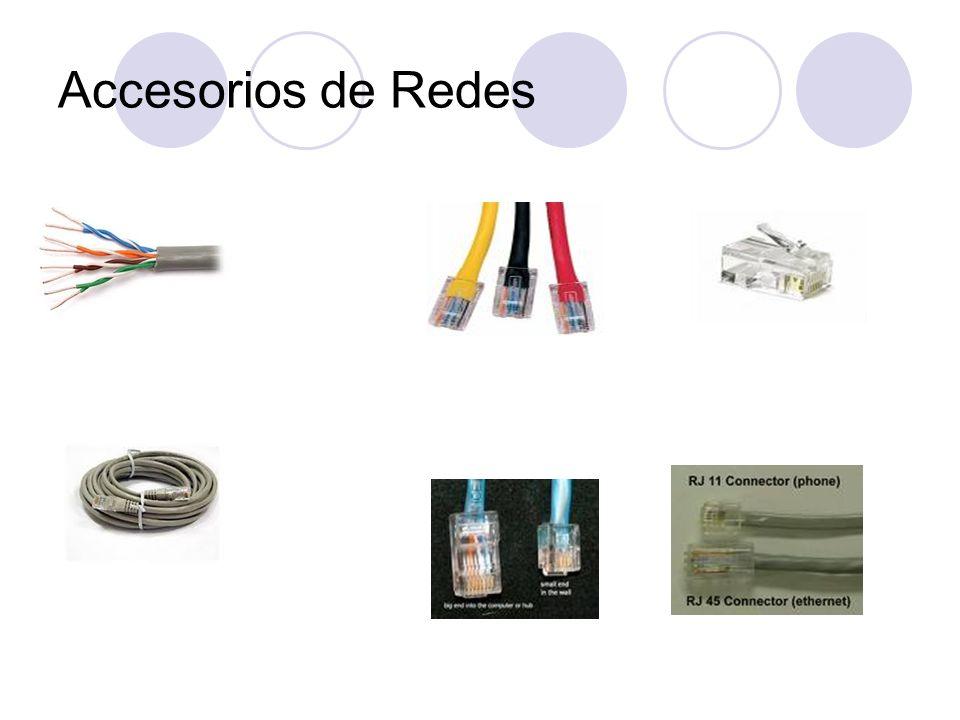 Accesorios de RedesPg 9.