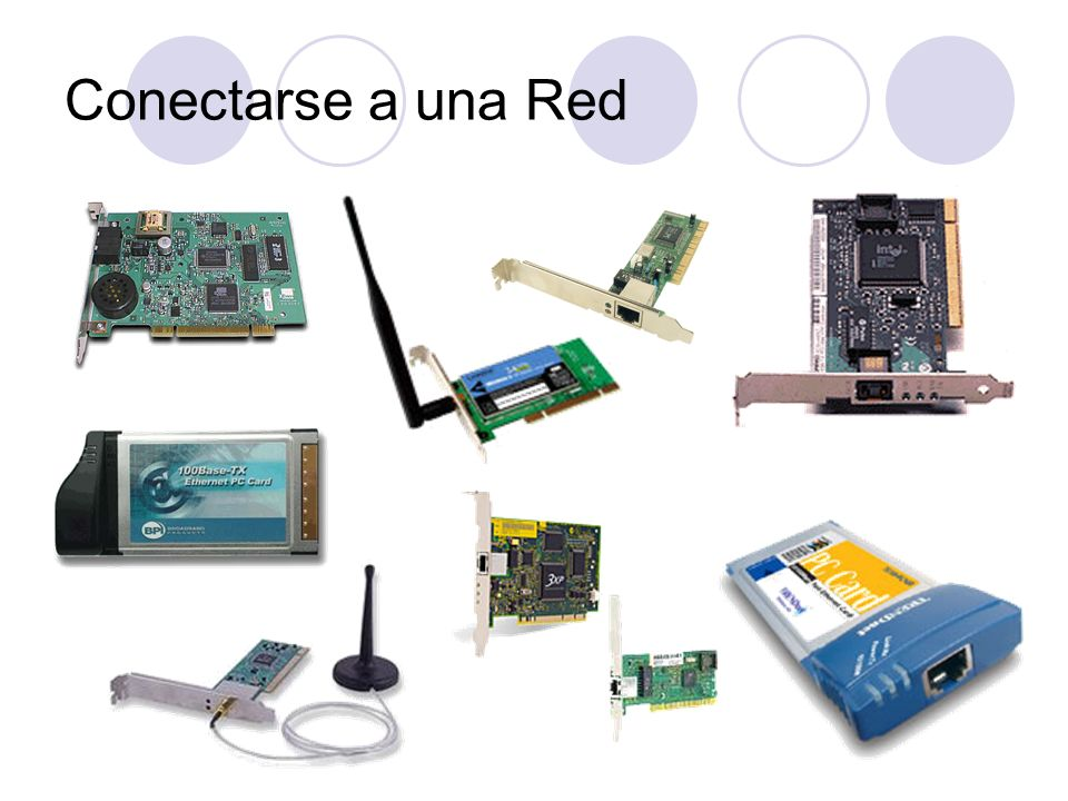 Conectarse a una RedPg 10.