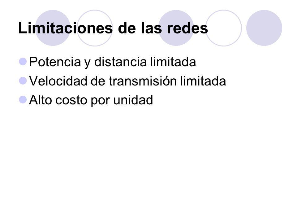 Limitaciones de las redes