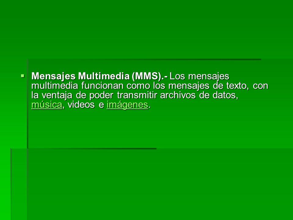 Mensajes Multimedia (MMS)