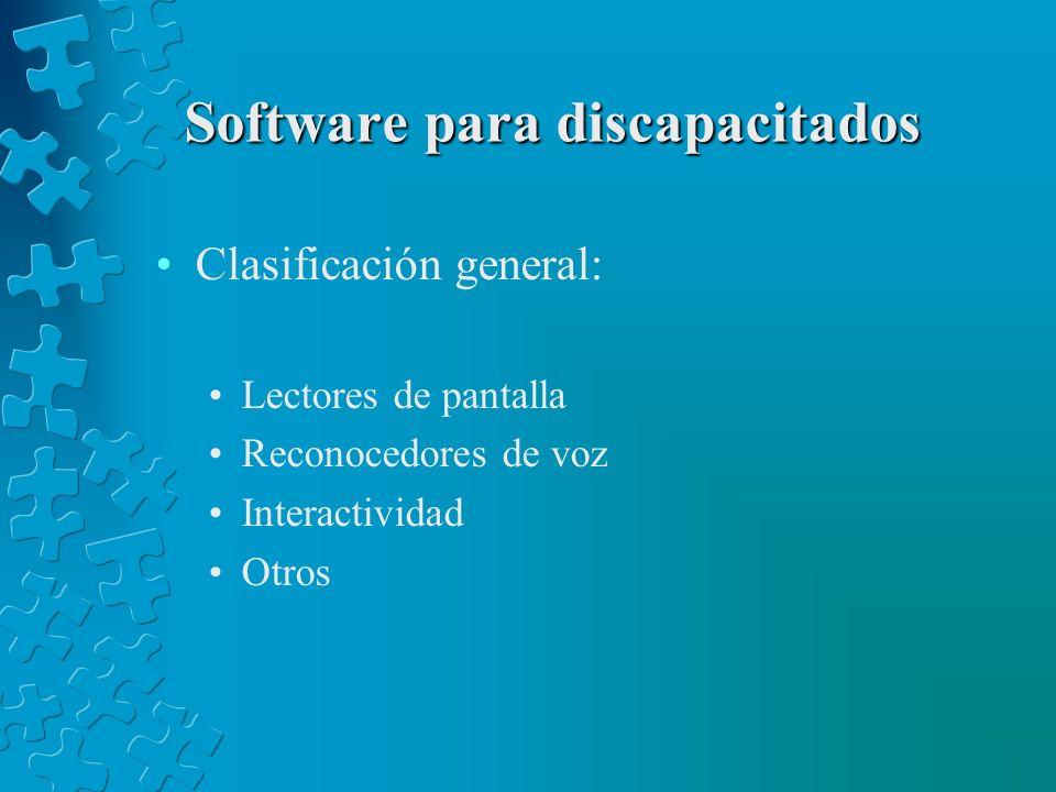Software para discapacitados