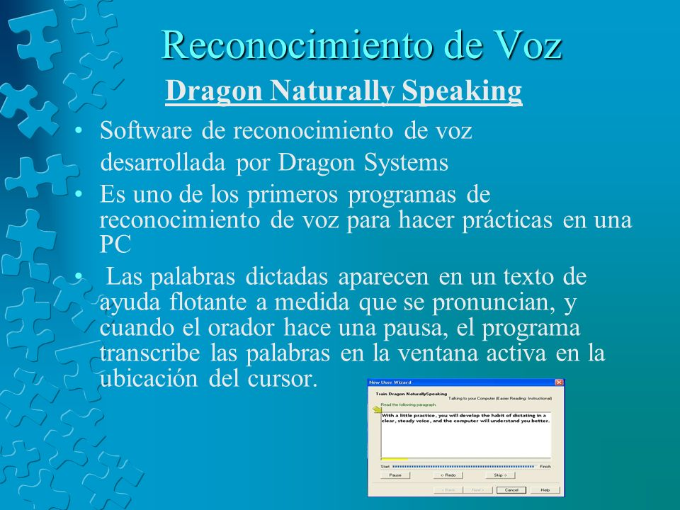 Reconocimiento de Voz Dragon Naturally Speaking