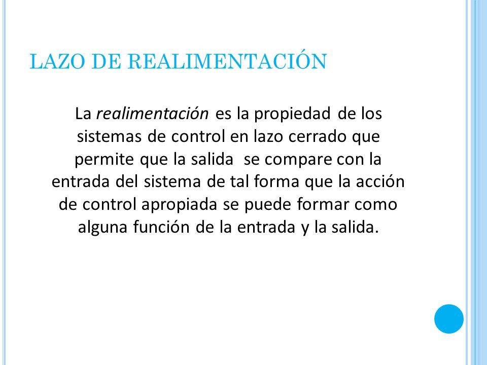 LAZO DE REALIMENTACIÓN