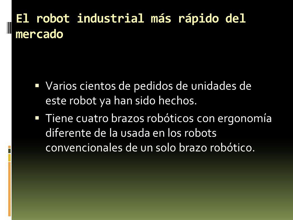 El robot industrial más rápido del mercado
