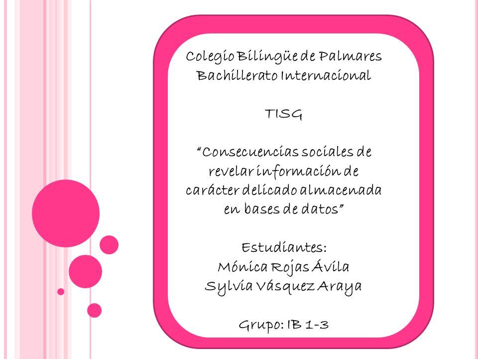 Colegio Bilingüe de Palmares Bachillerato Internacional