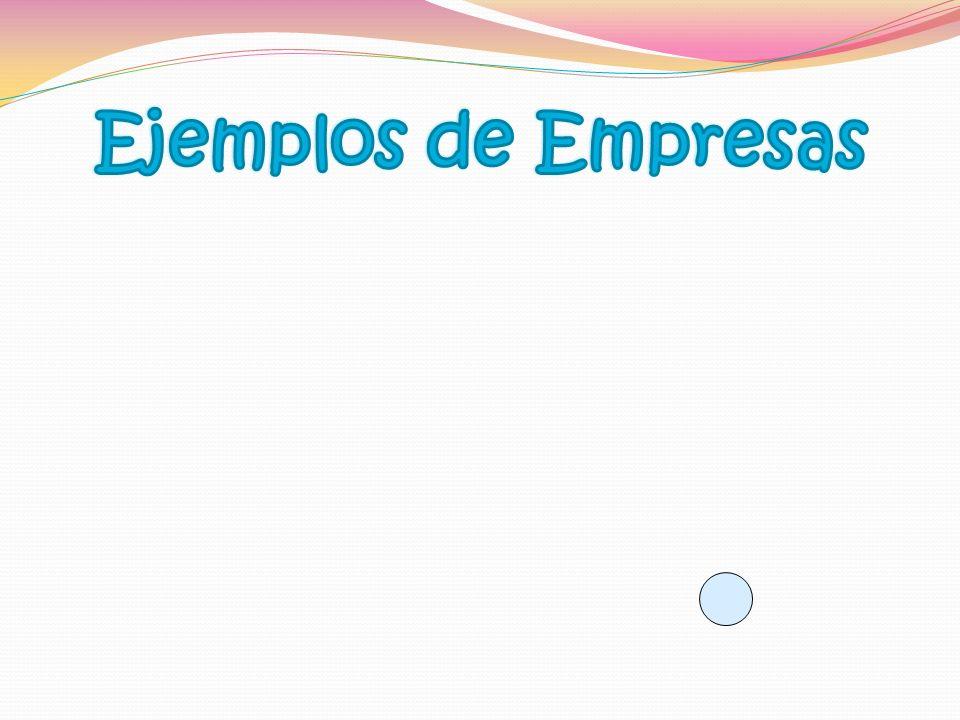 Ejemplos de Empresas