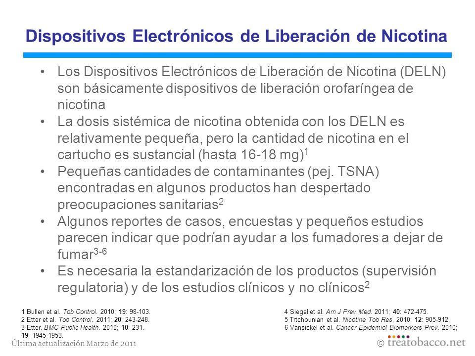 Dispositivos Electrónicos de Liberación de Nicotina