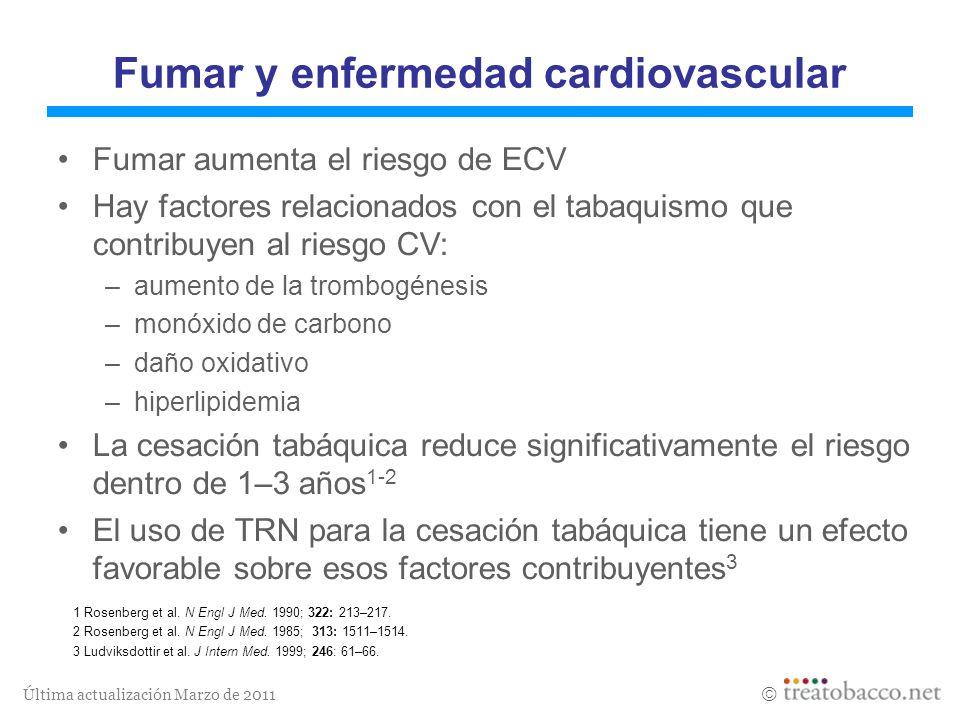 Fumar y enfermedad cardiovascular
