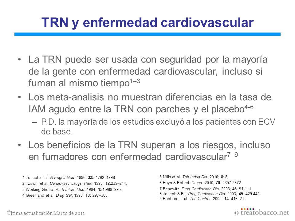 TRN y enfermedad cardiovascular