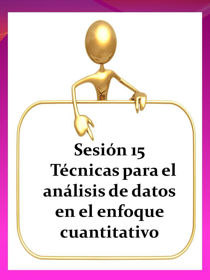 Técnicas para el análisis de datos en el enfoque cuantitativo