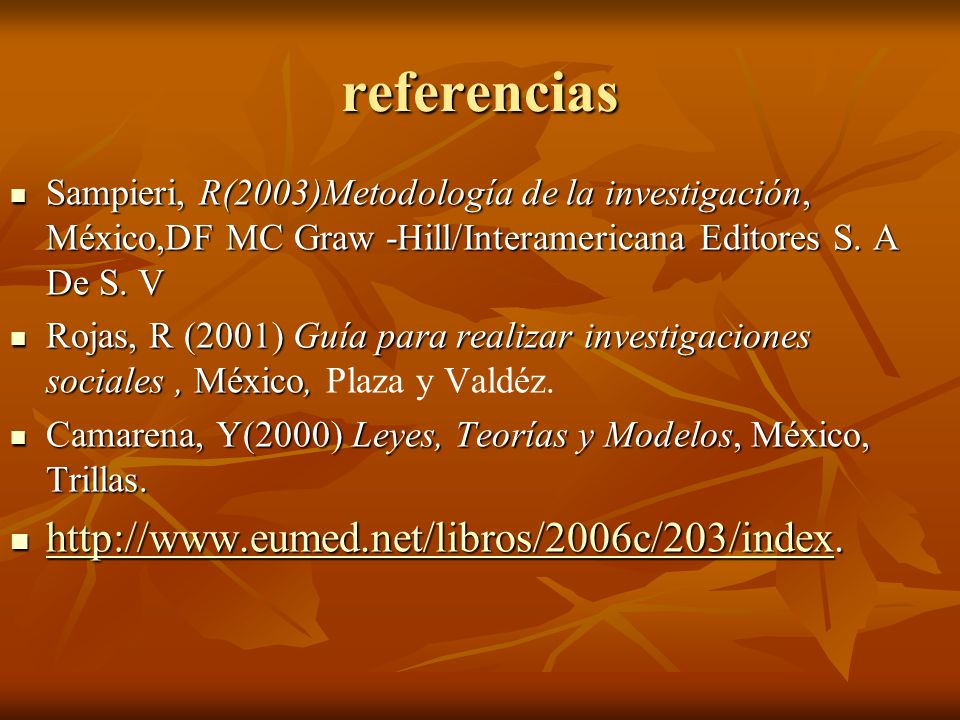 referencias http://www.eumed.net/libros/2006c/203/index.