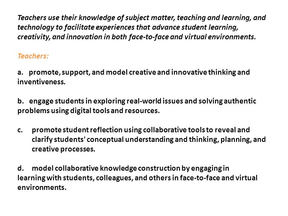model collaborative knowledge construction by engaging in
