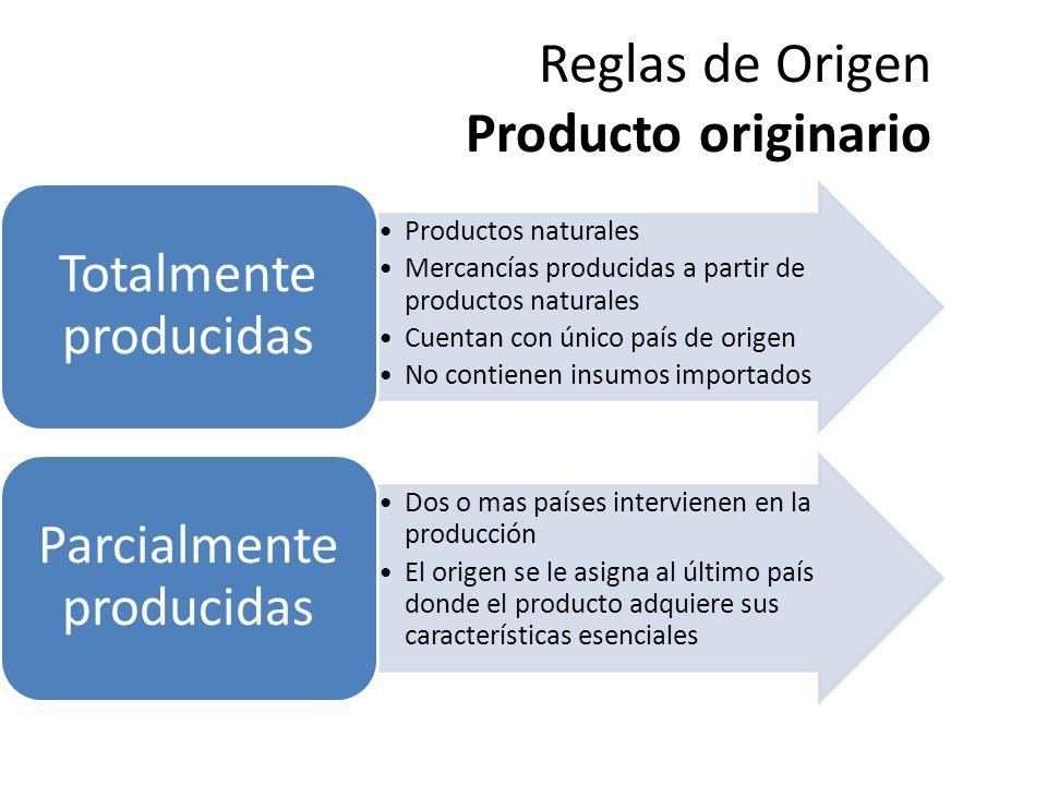 Reglas de Origen Producto originario