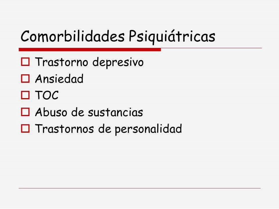 Comorbilidades Psiquiátricas