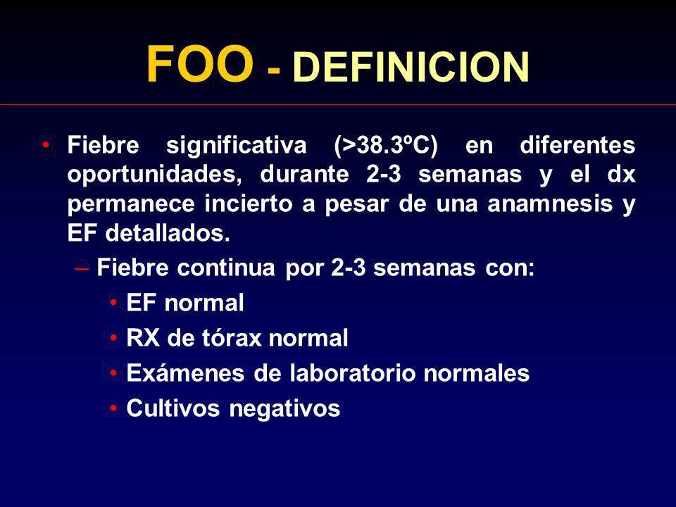 FOO - DEFINICION