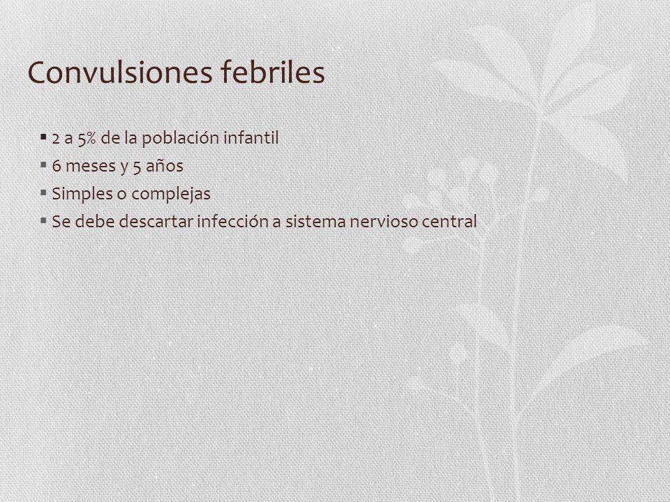 Convulsiones febriles