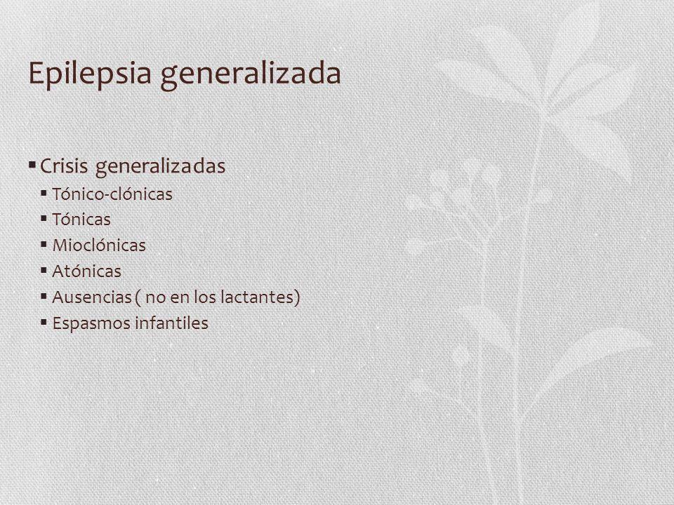 Epilepsia generalizada