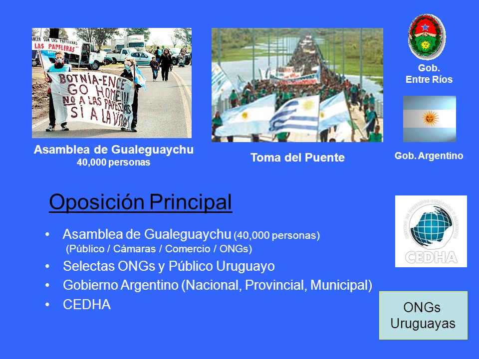 Asamblea de Gualeguaychu 40,000 personas