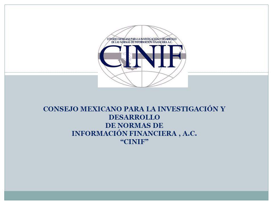 CONSEJO MEXICANO PARA LA INVESTIGACIÓN Y DESARROLLO DE NORMAS DE