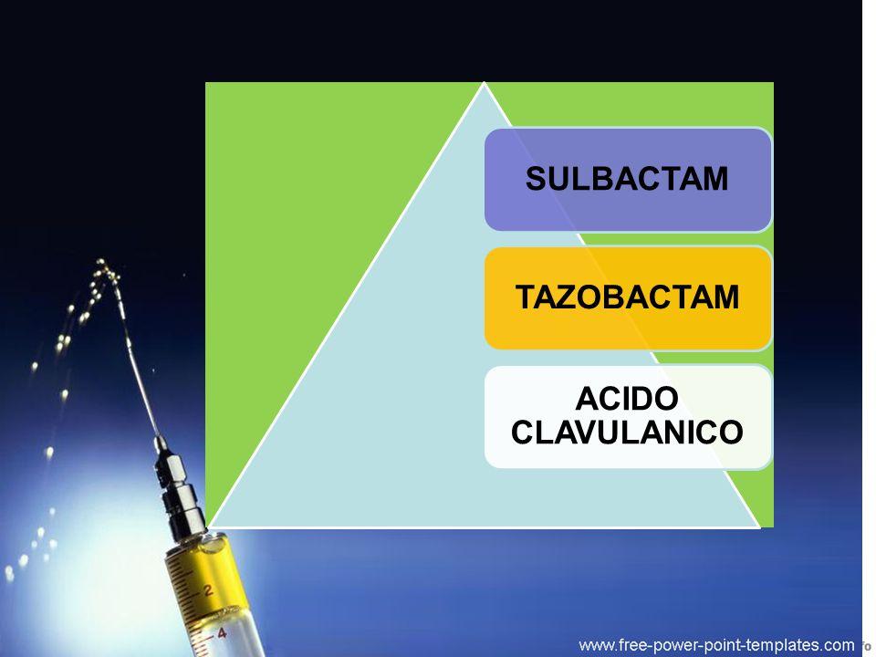 SULBACTAM TAZOBACTAM ACIDO CLAVULANICO