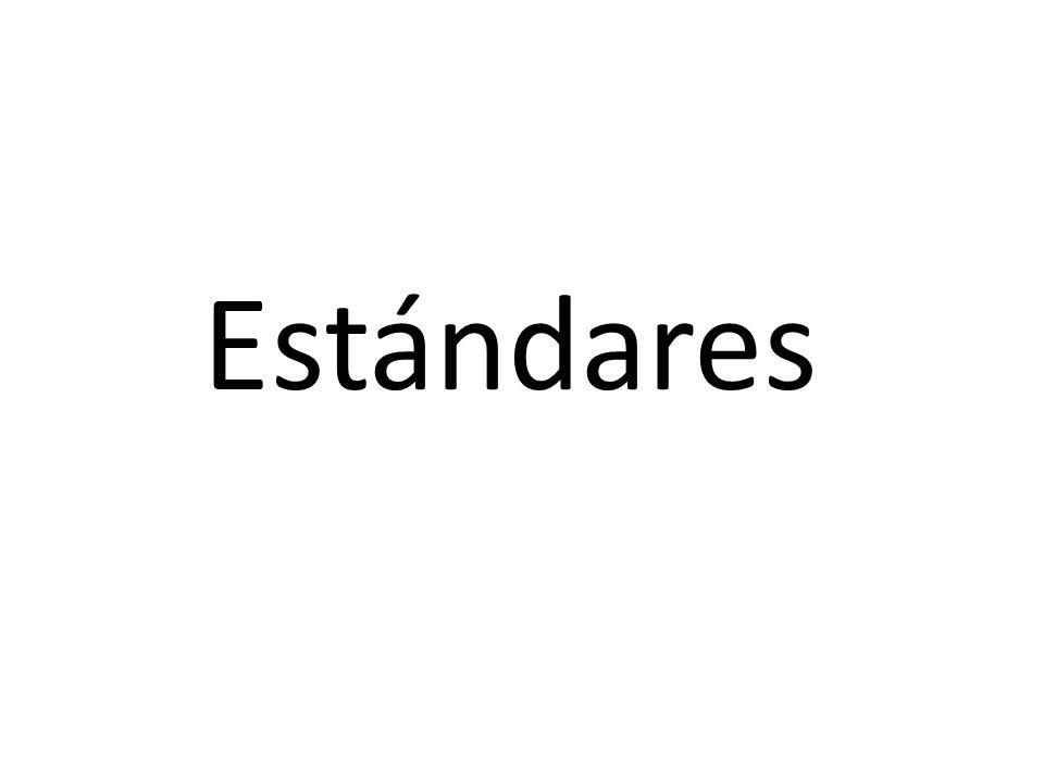 Estándares