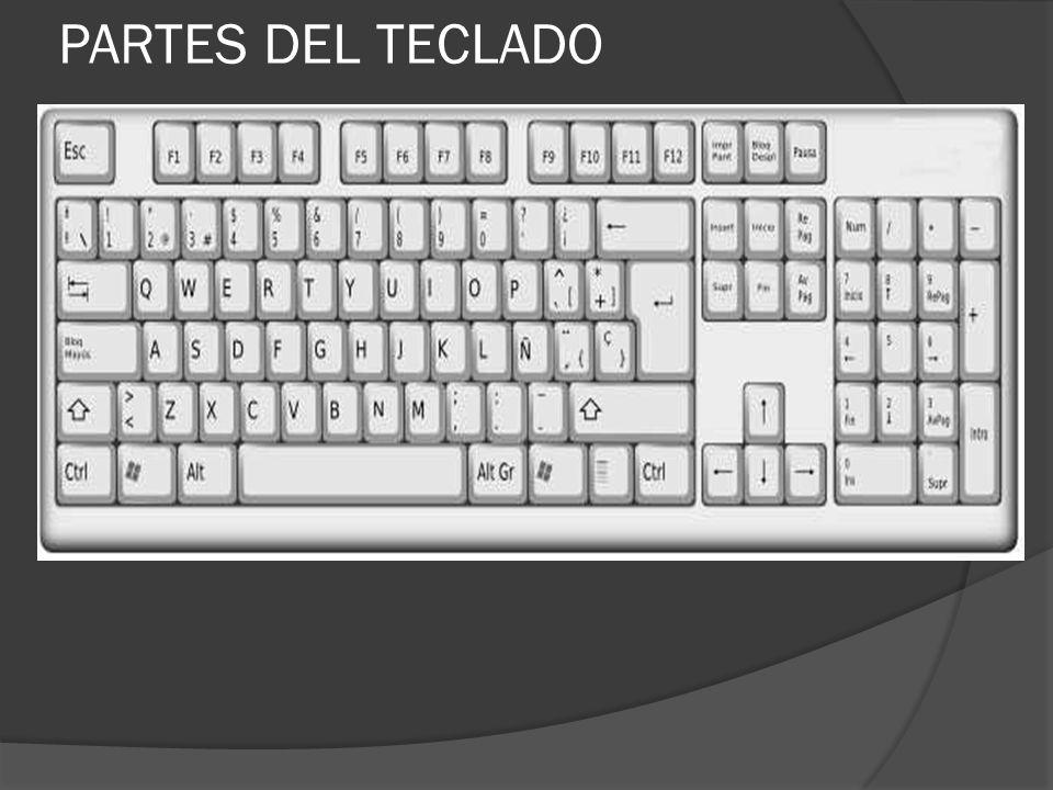 PARTES DEL TECLADO 18