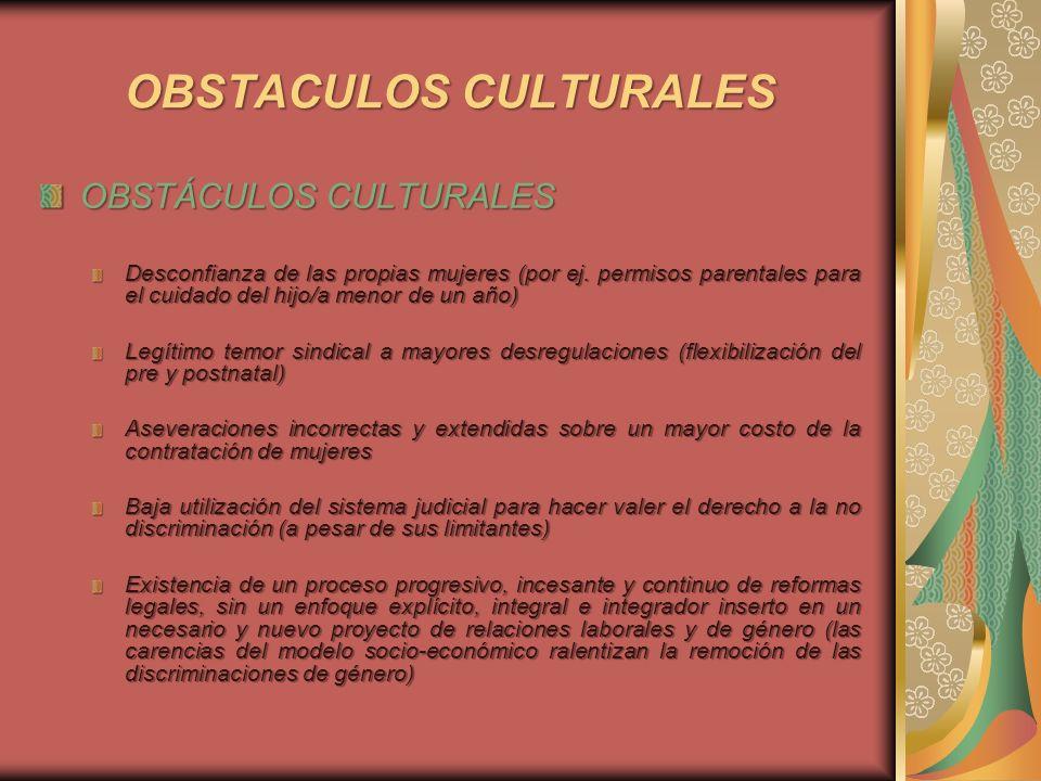 OBSTACULOS CULTURALES