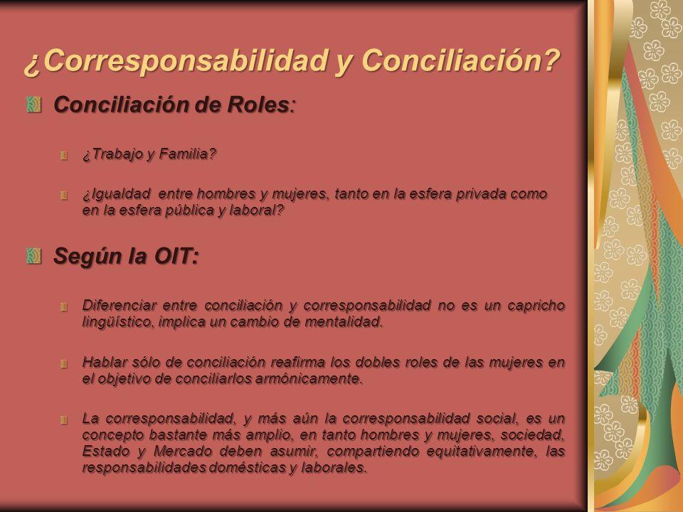 ¿Corresponsabilidad y Conciliación
