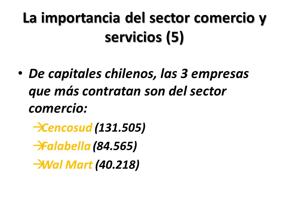 La importancia del sector comercio y servicios (5)