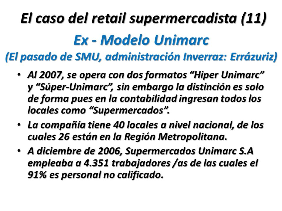 El caso del retail supermercadista (11)