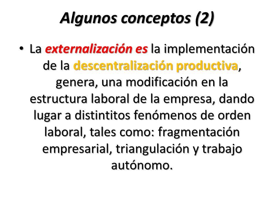 Algunos conceptos (2)