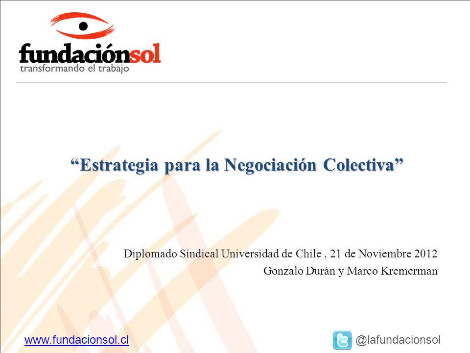 Estrategia para la Negociación Colectiva