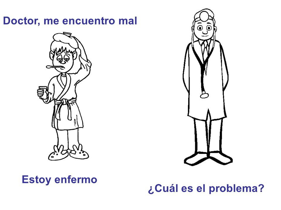 Doctor, me encuentro mal