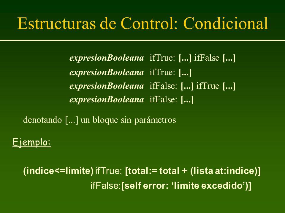 Estructuras de Control: Condicional